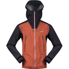 Bergans Slingsby 3L Jacket Herr Lava/Dark Navy/Silver Grey